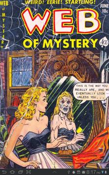 Web of Mystery #10 Comic Book poster
