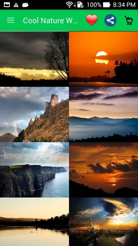 Cool nature wallpapers apk download free personalization - Nature wallpaper apk ...