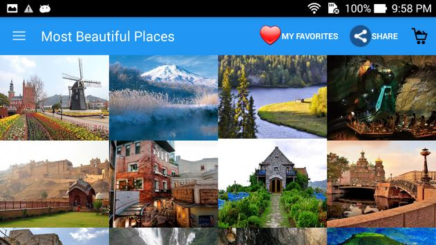 Most Beautiful PlacesWallpaper screenshot 1
