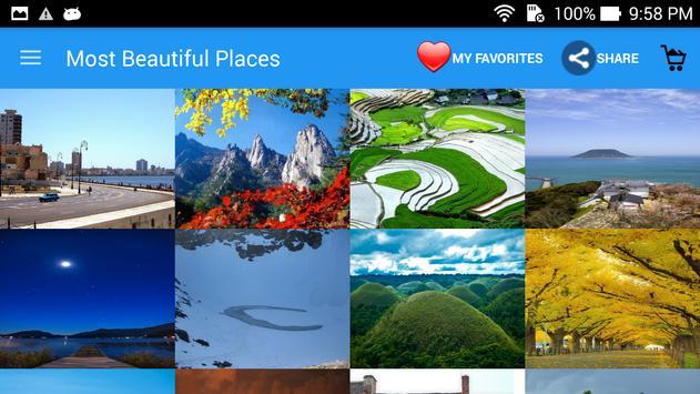 Most Beautiful PlacesWallpaper screenshot 4