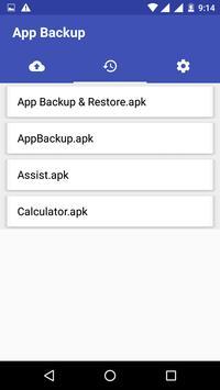 Quick Backup Restore apk screenshot