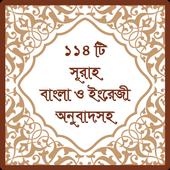 ১১৪ টি সূরা অর্থসহ (Surah) icon
