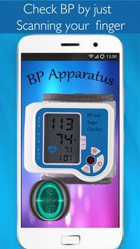 Blood Sugar Checker - BP And Sugar Test Prank poster
