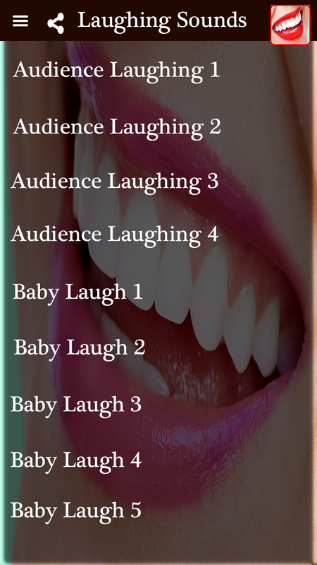 Laughing Sound Effects – Funny Laughing Noises für Android
