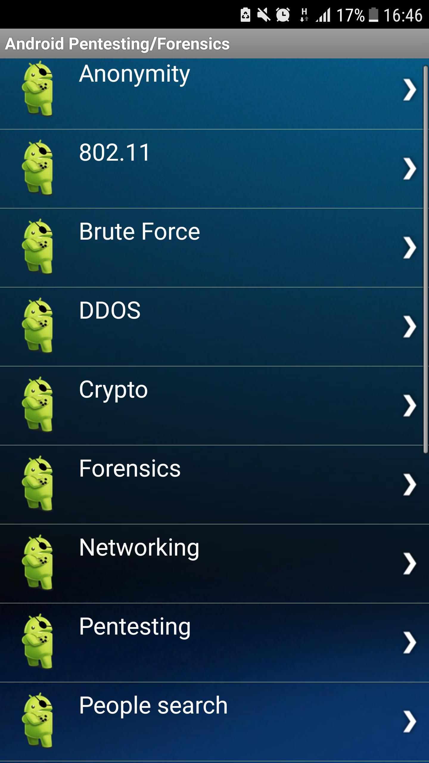 Droidbug Pentesting & Forensic FREE for Android - APK Download
