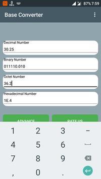 Base Converter screenshot 1