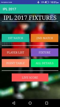 IPL 2017 poster