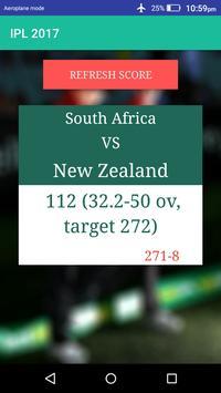 IPL 2017 apk screenshot