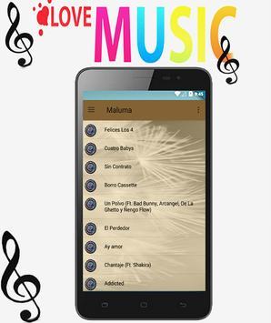Maluma - Felices los 4 ft. Marc Anthony Songs screenshot 1