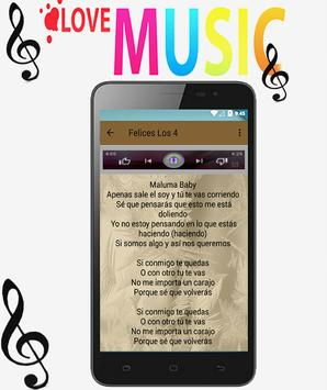 Maluma - Felices los 4 ft. Marc Anthony Songs screenshot 3