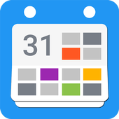 Calendar 2018 - Diary, Holidays and Reminders icon