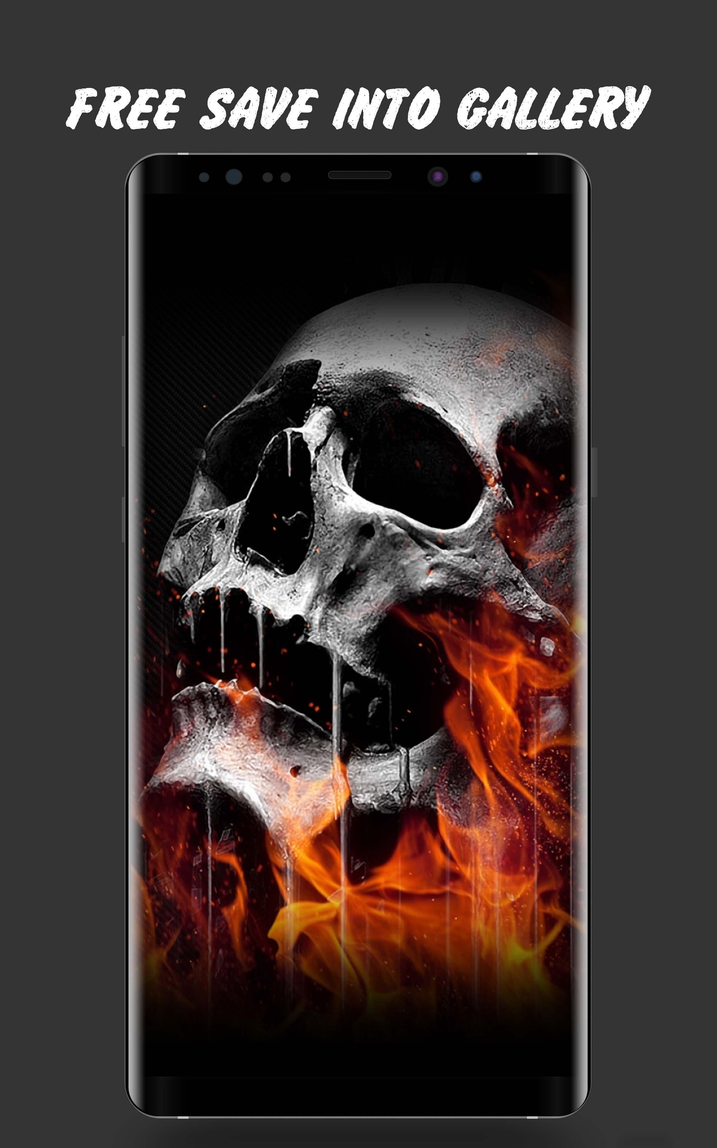 Skull Wallpaper 4K for Android - APK Download