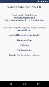 Video Stabilizer - Deshake screenshot 7
