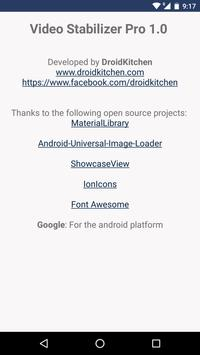 Video Stabilizer - Deshake apk screenshot