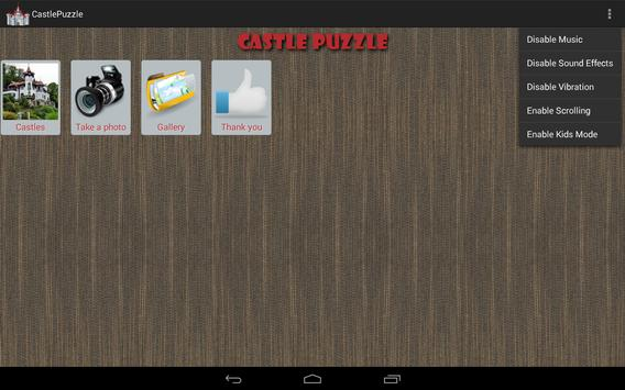 Castle Puzzle Free apk screenshot