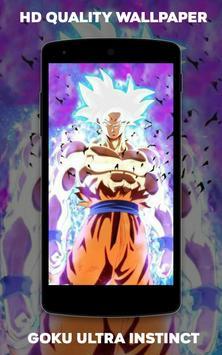 Wallpaper Goku Ultra Instinct screenshot 2