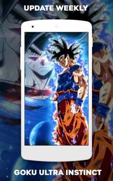 Wallpaper Goku Ultra Instinct screenshot 7