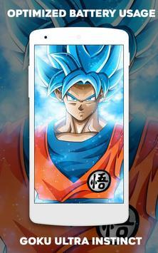 Wallpaper Goku Ultra Instinct screenshot 5