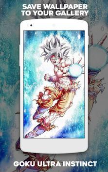 Wallpaper Goku Ultra Instinct screenshot 6