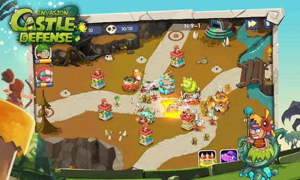 Castle Defense : Invasion apk screenshot