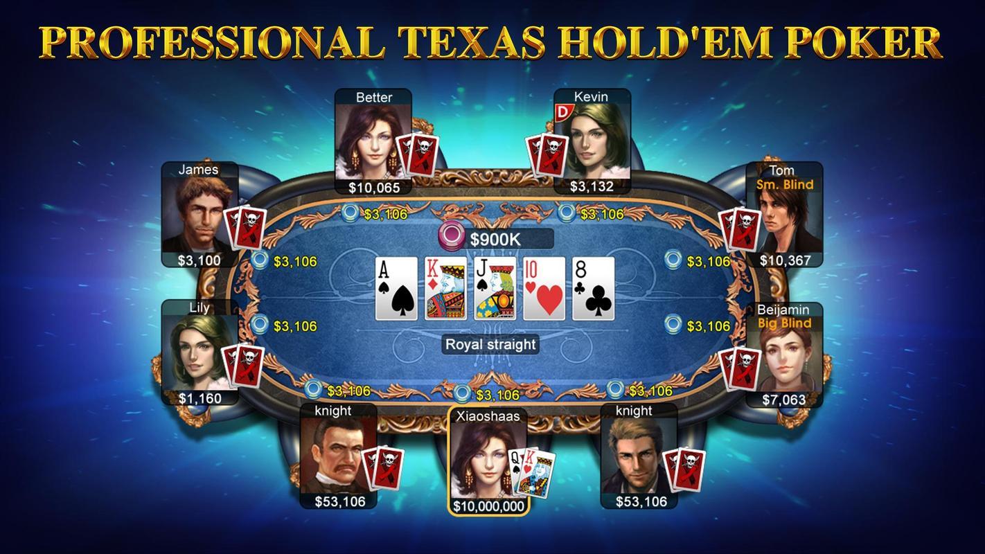 poker texas hold em games