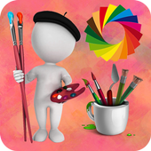 Paint Color and Draw icon