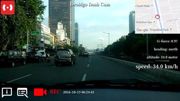 Droidgo Dash Cam poster