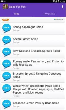 Salad For Fun screenshot 1