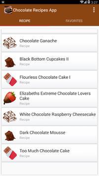 Best Chocolate Recipes screenshot 1