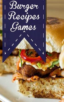 Burger recipes Games poster
