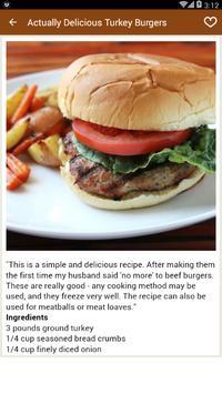 Burger recipes Games screenshot 2