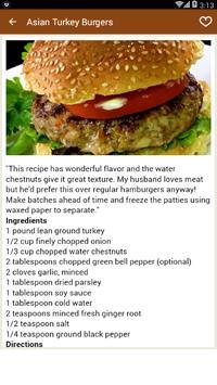 Burger recipes Games screenshot 3