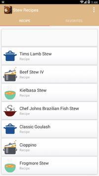 Stew Recipes Games screenshot 1