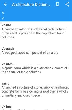 Architecture Dictionary screenshot 1