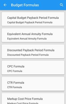 Budget Formulas for Android - APK Download