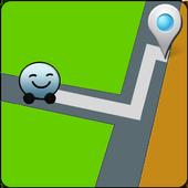 Share GPS Location icon