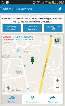 Share GPS Location poster