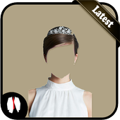 Bridal Hairstyle Photo Suit icon