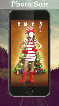 Girl Christmas Suit Editor poster