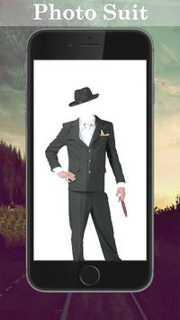 Man Costume Photo Editor poster