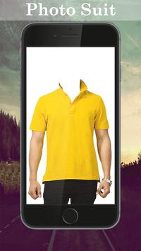 Man T-shirt Photo Suit screenshot 3