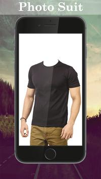 Man T-shirt Photo Suit screenshot 2