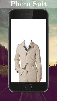 Man Trench Coat Photo Maker screenshot 1