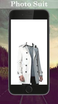 Man Trench Coat Photo Maker screenshot 2