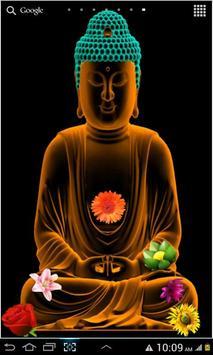 Gautama Buddha Live Wallpaper Apk Screenshot