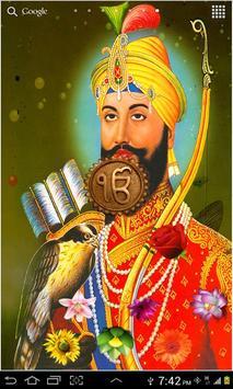 Guru Gobind Singh Ji LWP Poster Apk Screenshot