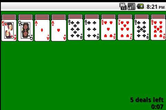 Famous solitaire poster