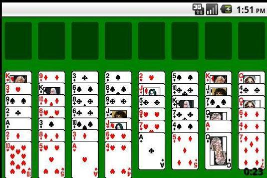 Famous solitaire apk screenshot