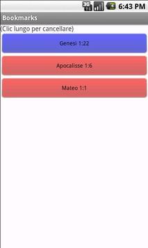 Holy Bible Sacra Bibbia screenshot 1