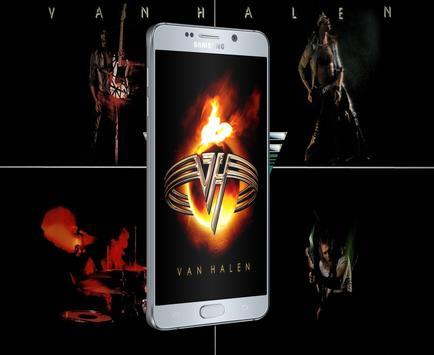 Van Halen Wallpaper For Fans Poster